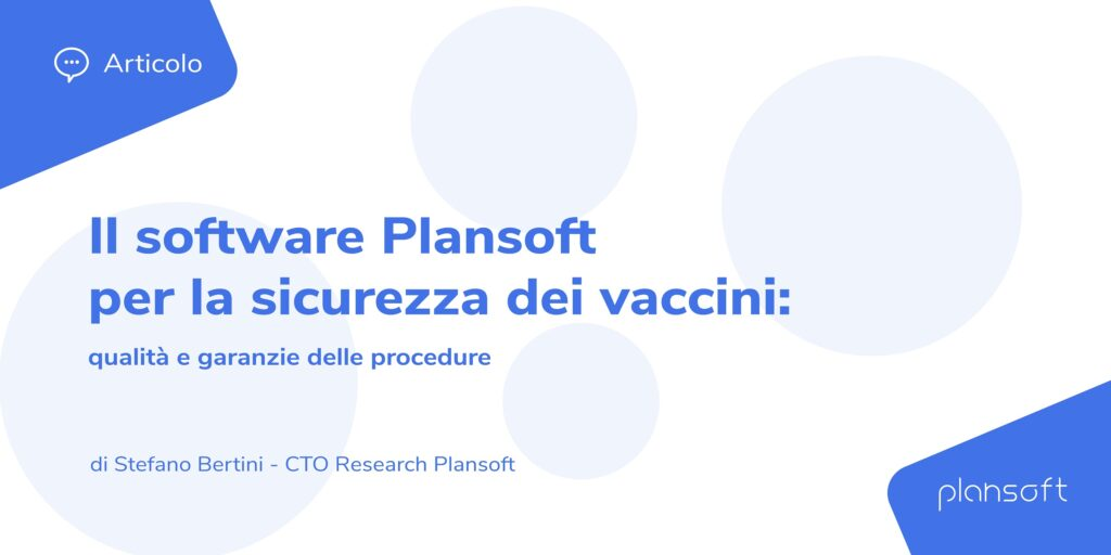 Software Plansoft Sicurezza vaccini
