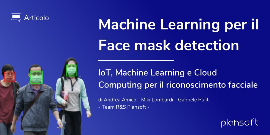 Machine Learning per il Face mask detection