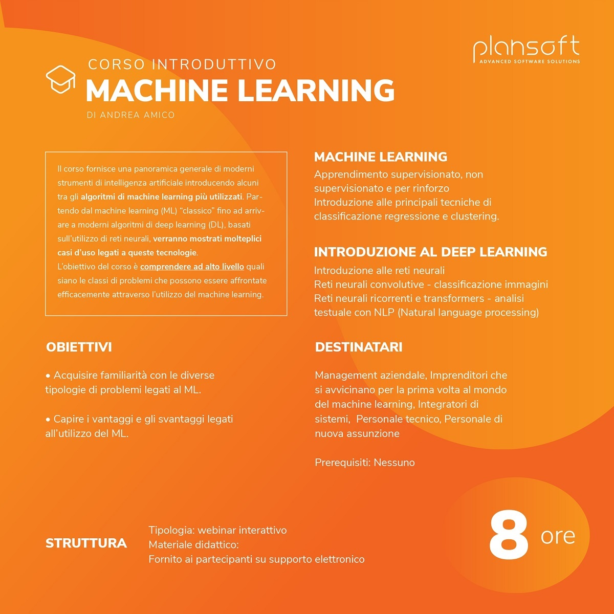 Corso Machine Learning