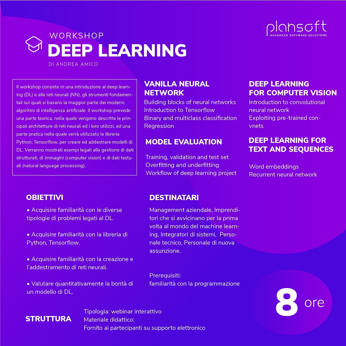 Workshop Deep Learning